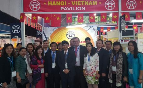 Hang hoa Viet Nam duoc ua chuong o Hoi cho SAITEX-Nam Phi 2016 - Anh 1