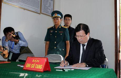 Thu tuong, cac Pho Thu tuong vieng Dai ta liet si Tran Quang Khai - Anh 6