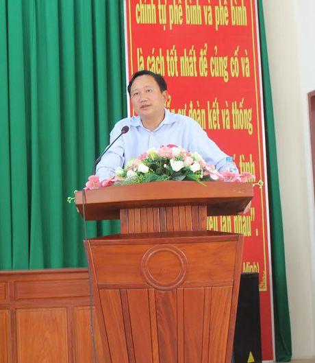 Doan cong tac T.U lam viec voi Hau Giang ve vu ong Trinh Xuan Thanh - Anh 1