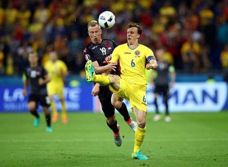 "Anh Euro 2016 Romania 0 - 1 Albania: Tieng noi cua ke ""chieu duoi"" - Anh 11"