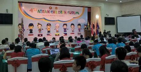 """Mot ASEAN, mot tam nhin vi tre em"" - Anh 1"