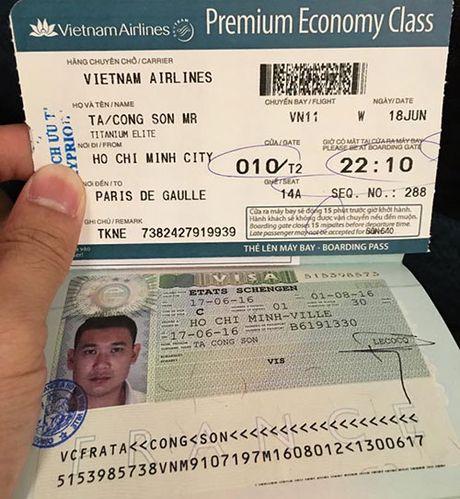 Du giau, HH Ky Duyen va ban trai dai gia van lo viec di Phap - Anh 2