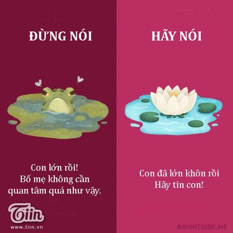 Cung mot cau noi hay hoc cach dung lam bo me ton thuong - Anh 3
