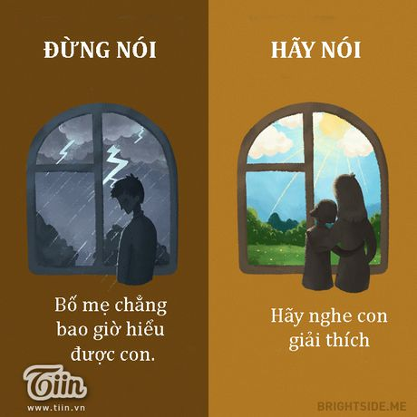 Cung mot cau noi hay hoc cach dung lam bo me ton thuong - Anh 7