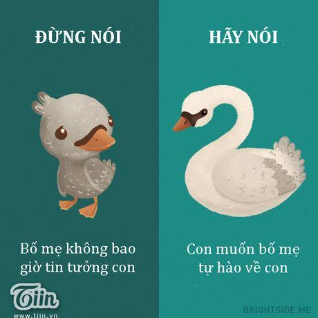 Cung mot cau noi hay hoc cach dung lam bo me ton thuong - Anh 8
