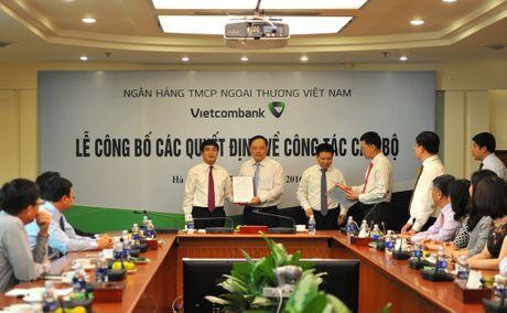 Vietcombank cong bo cac quyet dinh bo nhiem tai Tru so chinh - Anh 1