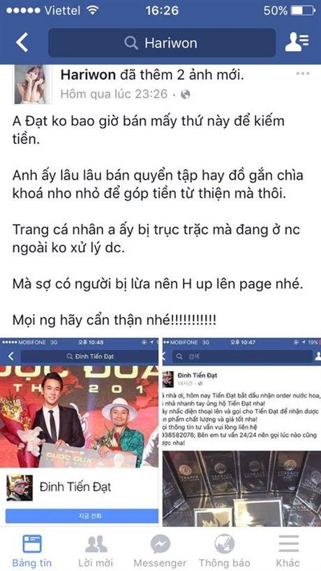 Suc khoe nghe si Han Van Tinh co chieu huong xau - Anh 3