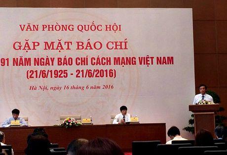 Bao chi va Quoc hoi – cau noi thong tin hieu qua toi cu tri - Anh 1