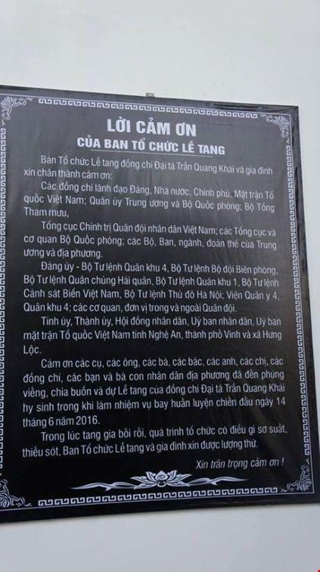 "Le truy dieu Dai ta phi cong Su-30 Tran Quang Khai: ""Con nho ba!"" - Anh 9"