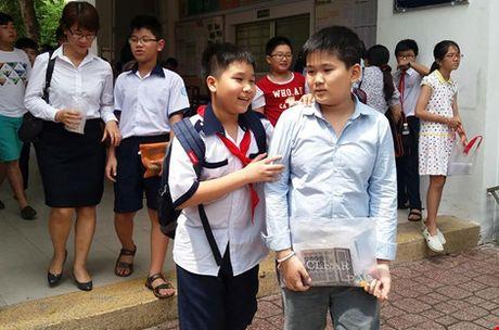 Ngay 23-6 cong bo dap an bai khao sat vao Truong Tran Dai Nghia - Anh 1