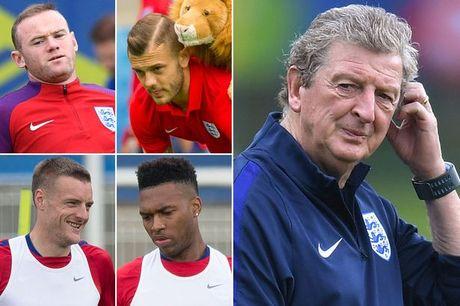 Phe Rooney, Anh thay 6 vi tri tran gap Slovakia - Anh 1