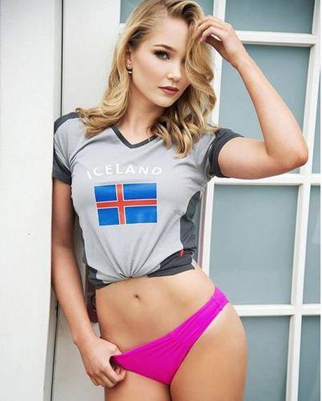 Nhan sac 'hut hon' cua hoa hau EURO 2016 - Anh 3