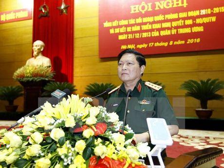 Doan quan su cap cao Viet Nam tham huu nghi chinh thuc Trung Quoc - Anh 1