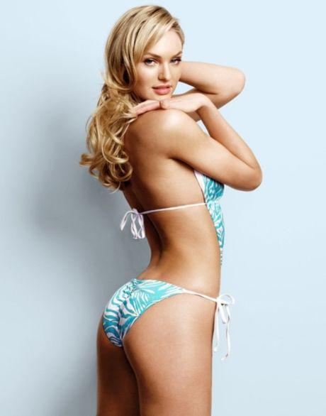 Candice Swanepoel khoe lung tran goi cam qua do bikini - Anh 9