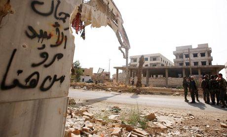 Anh: Quan doi Syria an mung chien thang tai thi tran Daraya - Anh 10