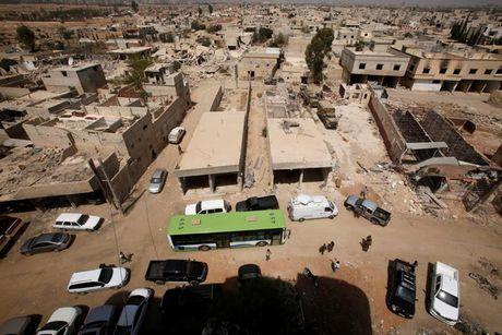 Anh: Quan doi Syria an mung chien thang tai thi tran Daraya - Anh 11