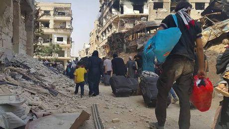 Anh: Quan doi Syria an mung chien thang tai thi tran Daraya - Anh 7