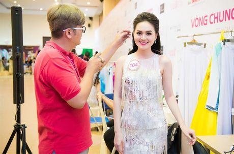 Thi sinh Hoa hau Viet Nam 2016 dep ruc ro trong hau truong - Anh 2