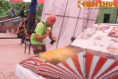 Graffiti Festival 2016 thu hut gioi tre yeu nghe thuat duong pho - Anh 10