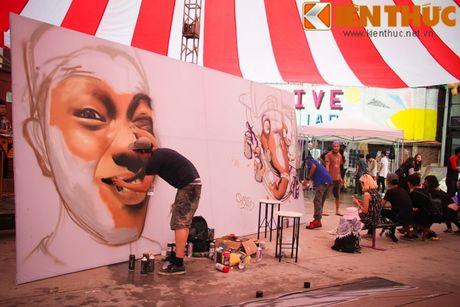 Graffiti Festival 2016 thu hut gioi tre yeu nghe thuat duong pho - Anh 4