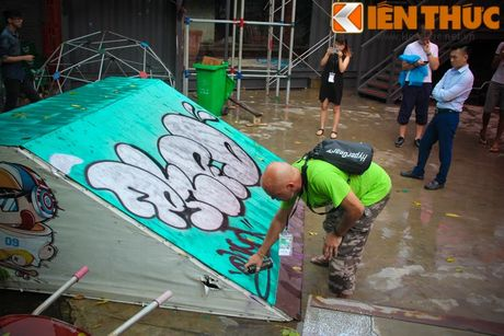 Graffiti Festival 2016 thu hut gioi tre yeu nghe thuat duong pho - Anh 5