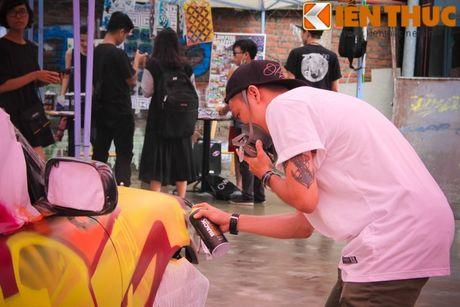 Graffiti Festival 2016 thu hut gioi tre yeu nghe thuat duong pho - Anh 8