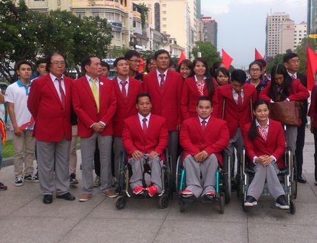 Doan the thao mang 'tinh than Hoang Xuan Vinh' den Paralympic Rio 2016 - Anh 2