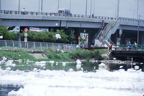 'Bot tuyet' noi trang xoa tren kenh Tau Hu - Anh 3