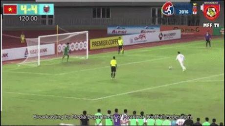 U.19 Viet Nam vo dich giai tu hung o Myanmar sau khi ha U.18 Sapporo - Anh 1