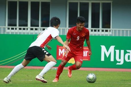U19 Viet Nam vo dich giai Tu hung o Myanmar - Anh 1