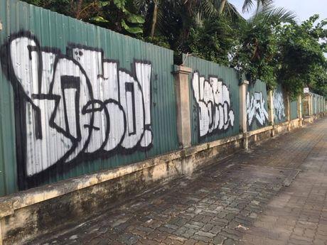 Ha Noi: Doc dao nhung con duong day mau sac nghe thuat Graffiti - Anh 2