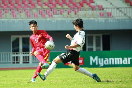 Chung ket U19 Viet Nam 0-0 U18 Consadole Sapporo (H1) - Anh 1