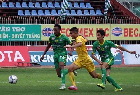 V-League 2016: HAGL bi ngat mach thang, Hai Phong chinh thuc mat ngoi dau - Anh 1