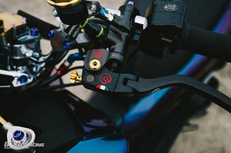 Ngam Honda PCX 150 do vang sieu dat cua 'dan choi' - Anh 4