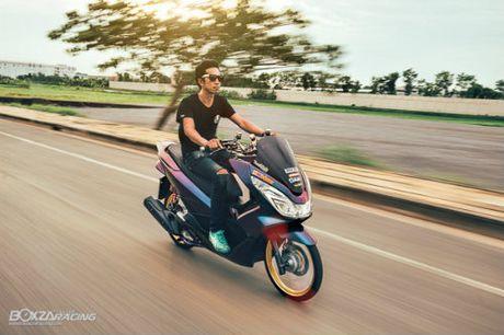 Ngam Honda PCX 150 do vang sieu dat cua 'dan choi' - Anh 7