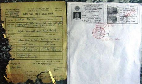 Quang Tri: Dau hieu mot duong day lam gia ho so nguoi co cong - Anh 1