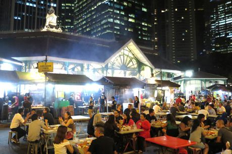 Dieu lam nen suc hap dan cua am thuc Singapore - Anh 1