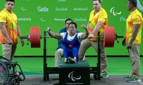 HCV Paralympic Le Van Cong: Dieu chua ke sau cu day xuat than - Anh 2