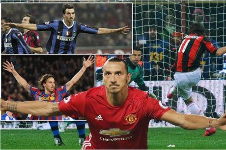 Ibrahimovic va cai duyen ghi ban o derby - Anh 1