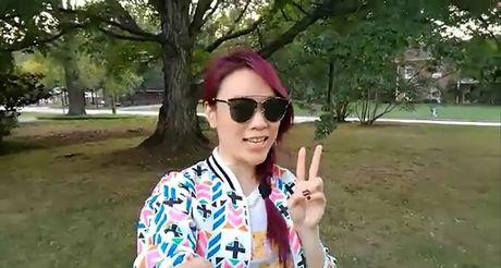 My Tam lan dau dua fan 'tham lai chon xua' trong chuyen luu dien - Anh 1
