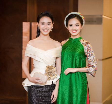 To Nhu, Ngoc Van hoi ngo sau Hoa hau Viet Nam - Anh 1