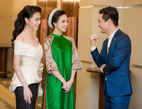 To Nhu, Ngoc Van hoi ngo sau Hoa hau Viet Nam - Anh 2