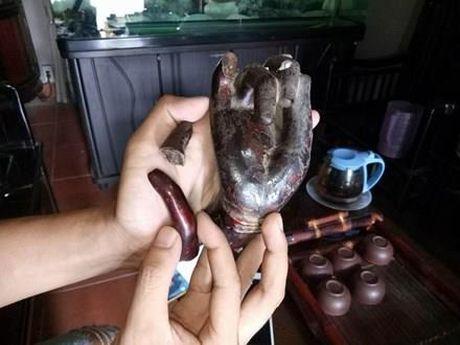 Trom tuong Quan Am nghin mat nghin tay: Lan theo dau chan - Anh 1