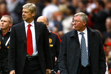 Tiet lo: Wenger suyt ke vi Sir Alex tai M.U - Anh 1
