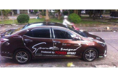 Toyota Altis 2016 do 'cai luong' nhat Viet Nam - Anh 1