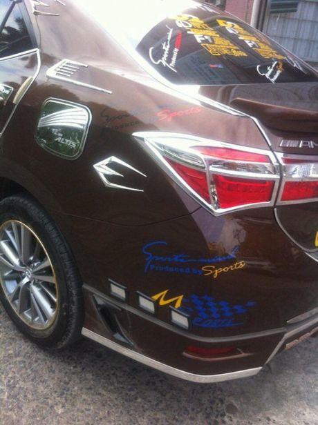 Toyota Altis 2016 do 'cai luong' nhat Viet Nam - Anh 6