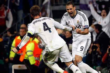 "Real Madrid – Eibar: ""Tram"" Ramos & Benzema - Anh 1"