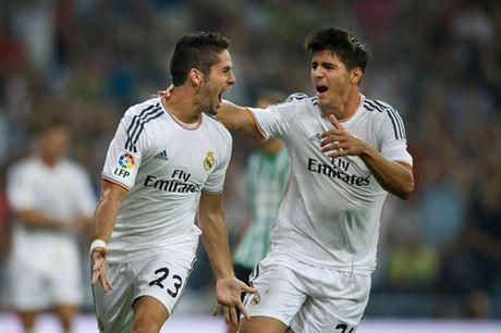 "Real Madrid – Eibar: ""Tram"" Ramos & Benzema - Anh 2"
