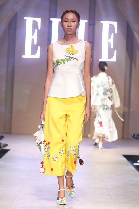 Ky Duyen bat ngo xuat hien trong vai tro vedette tai Elle Fashion Journey 2016 - Anh 4