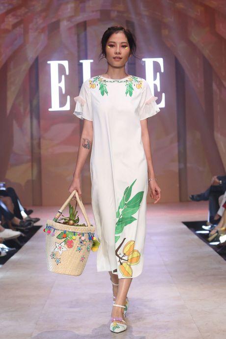 Ky Duyen bat ngo xuat hien trong vai tro vedette tai Elle Fashion Journey 2016 - Anh 6